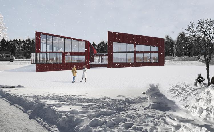 Projekt nowoczesnego ośrodka kultury dla seniorów w Rzeszowie