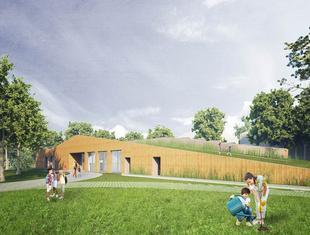 Centrum Edukacji Ekologicznej przy lesie Młocińskim w Warszawie