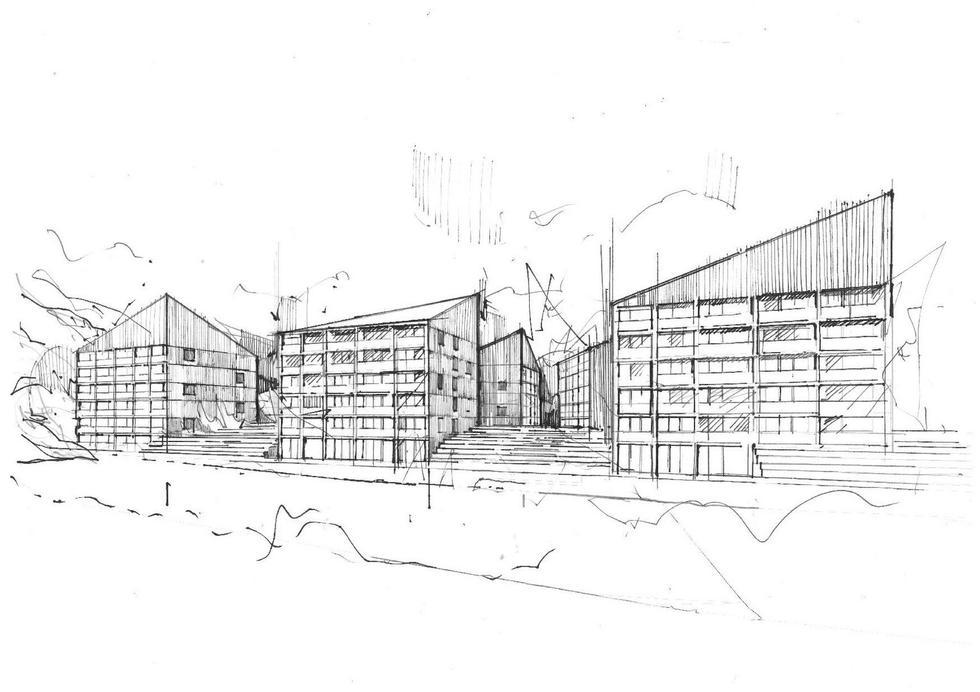Zespół hotelowy w Wiśle projektu Franta Group