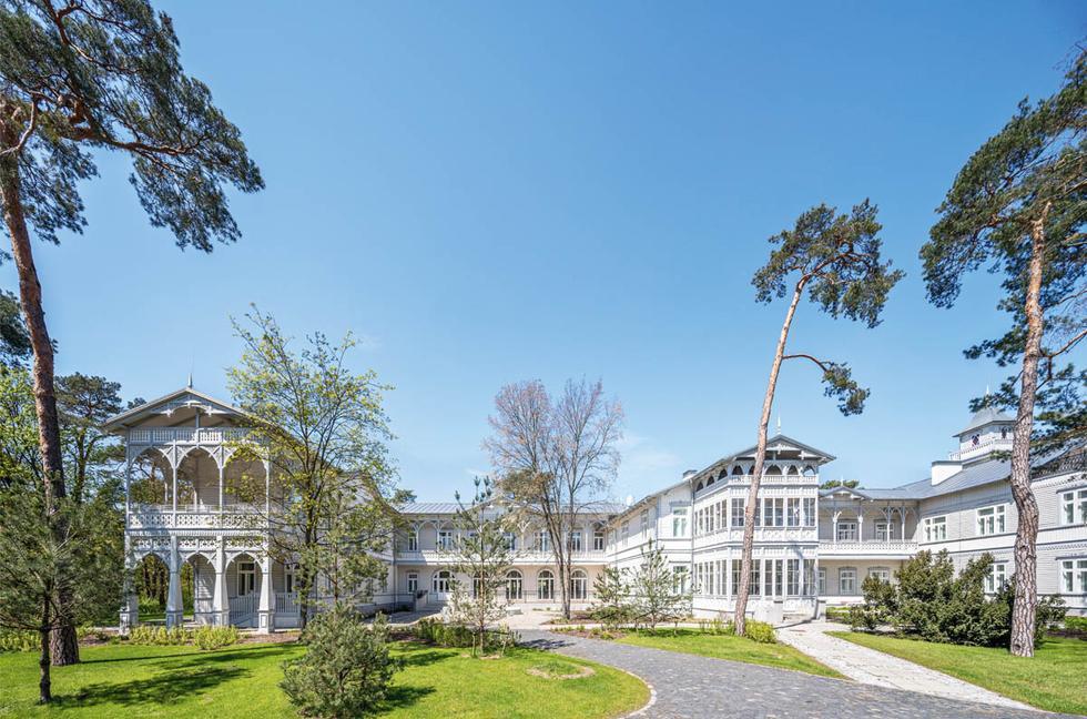 Modernizacja sanatorium Gurewicza w Otwocku
