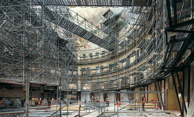 Modernizacja Bourse de Commerce według projektu Tadao Ando