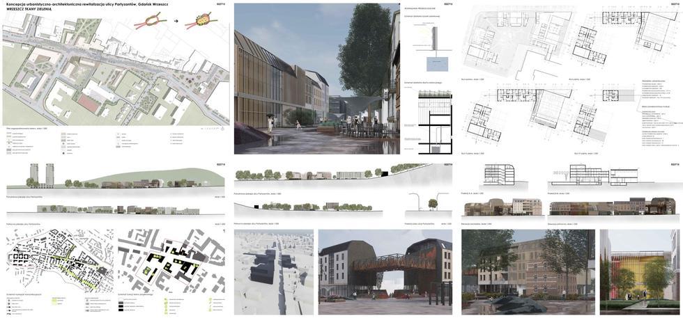 Rewitalizacja ulicy Partyzantów w Gdańsku
