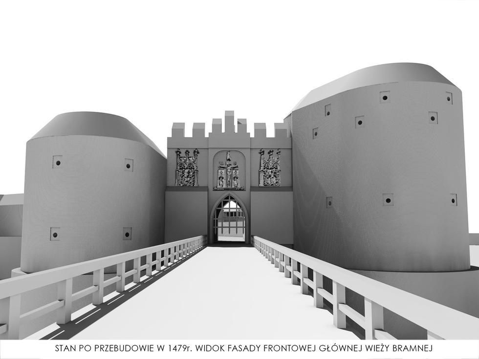 Rekonstrukcja średniowiecznej Bramy Mikołajskiej II we Wrocławiu