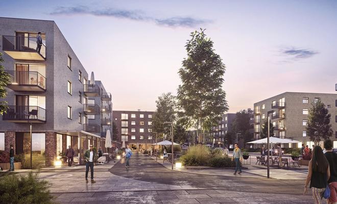 Osiedle Mieszkanie Plus w Katowicach od Kuryłowicz & Associates