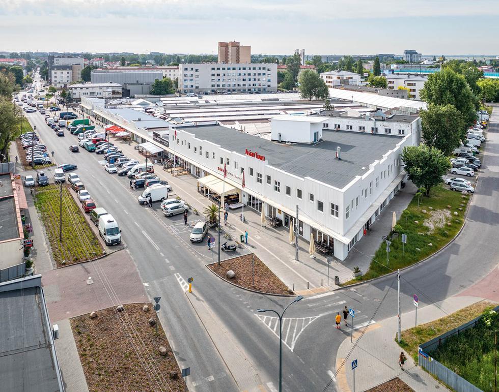 Targowisko Bakalarska w Warszawie