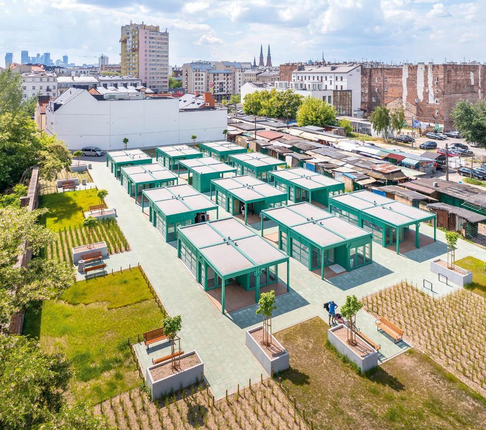 Modernizacja bazaru Różyckiego