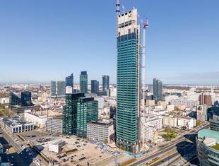 Budowa wieżowca Varso Tower