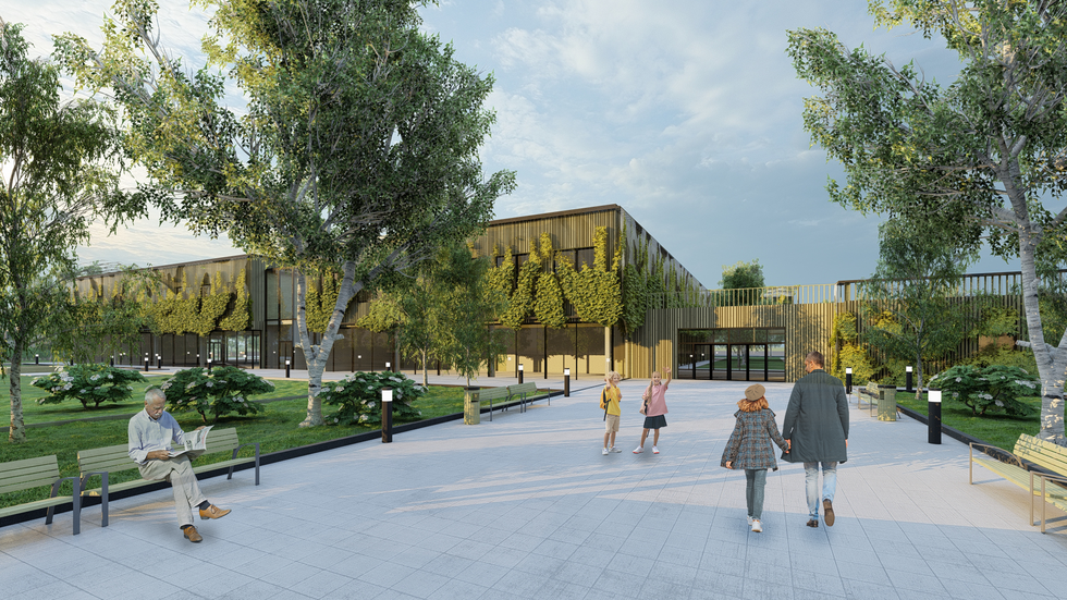 Koncepcja szkoły podstawowej jako przykład obiektu, który buduje świadomość ekologiczną od najmłodszych lat