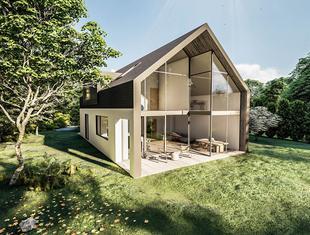 Dom Przy Lesie_1 projektu TOYA DESIGN