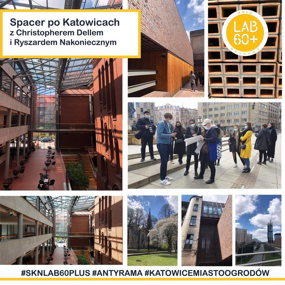 Koło naukowe LAB 60+ na Wydziale Architektury Politechniki Śląskiej