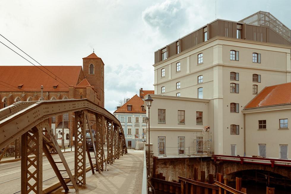 Młyn Maria – Maćków Pracownia Projektowa zrewitalizowała zabytkowy zespół w centrum Wrocławia
