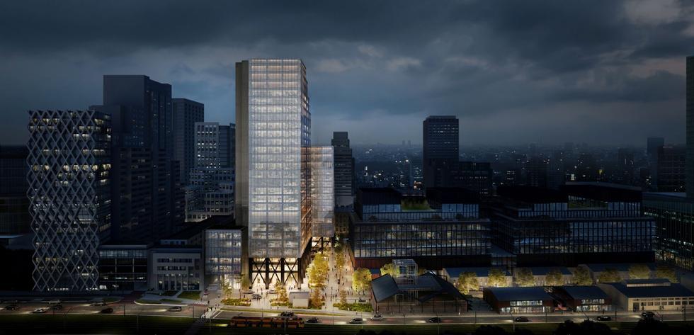 Zespół biurowy Studio w Warszawie: nowy wieżowiec projektu Arrow Architects i Grupa 5 Architekci
