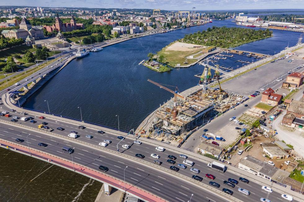 Morskie Centrum Nauki w Szczecinie projektu Płaskowicki & Partnerzy