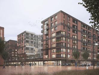 Rusza budowa kolejnego budynku DOKI Living według projektu pracowni FORT Targowski