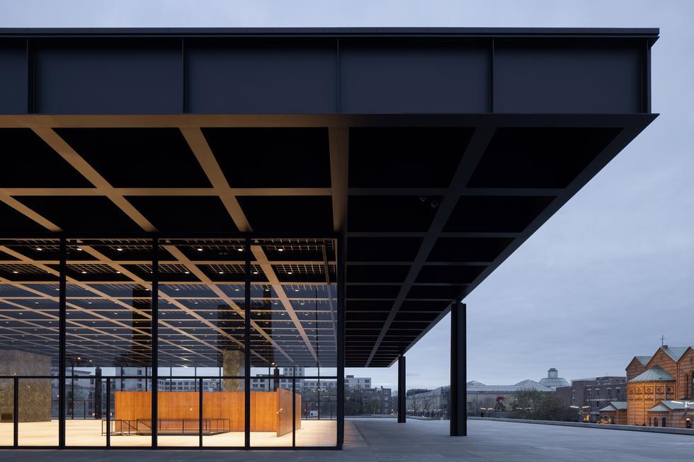 Neue Nationalgalerie w Berlinie - drugie życie architektonicznej ikony