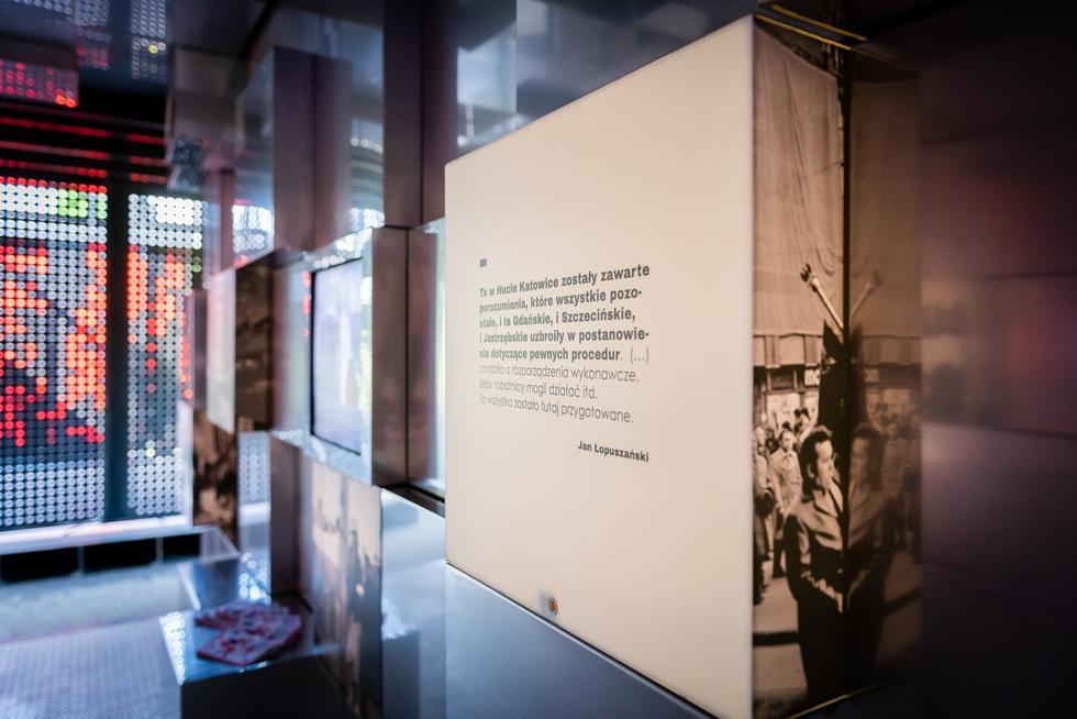 Atlas pamięci: wystawa projektu OVO Grąbczewscy na 40-lecie Solidarności
