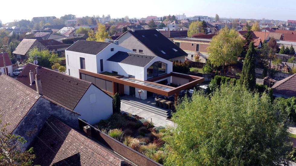 Dom w Bratysławie projektu pracowni Rado Rick