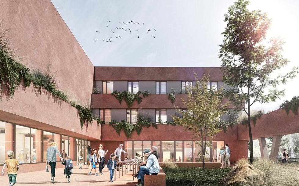 Kolejne podejście do budowy szkoły na Konstruktorskiej według projektu WWAA