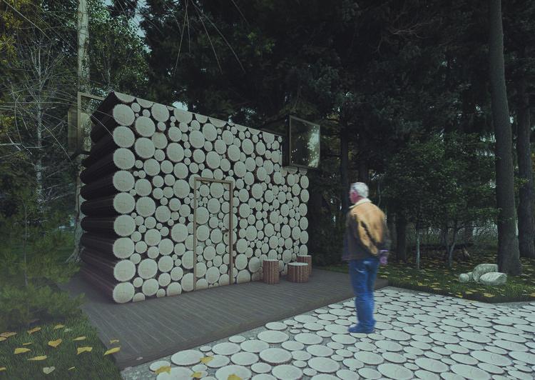 Cocon — obserwatorium przyrody w otulinie Parku Krajobrazowego Puszczy Knyszyńskiej