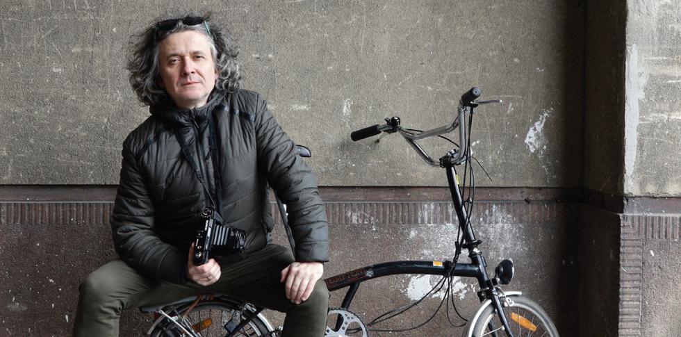 Wszystko składane. Rower, aparat i przedmieścia: premiera książki i dyskusja z autorem