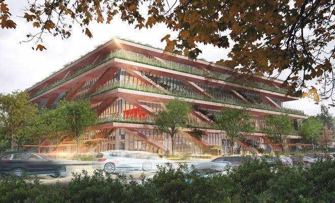 Centrum Innowacji SGH według projektu Stelmach i Partnerzy