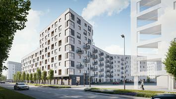 NU! Warszawa Wola: nowe osiedle projektu Kuryłowicz & Associates