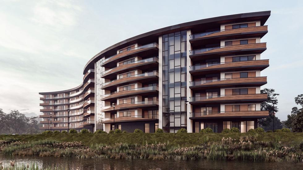 Zambrowskie apartamenty z widokiem na zalew