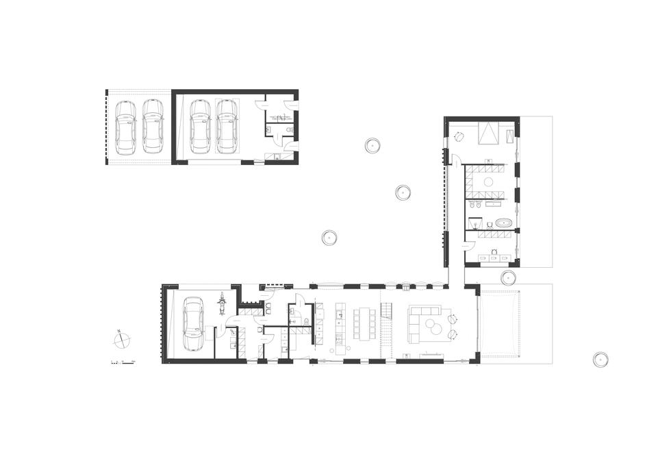 Dom w zagrodzie – projekt pracowni NA NO WO architekci