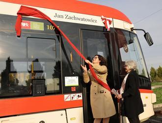 Warszawa ma pomnik, Gdańsk tramwaj Zachwatowicza