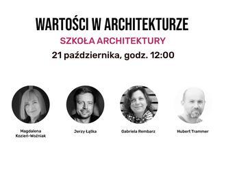 """Szkoła architektury. Jak i czego uczyć? Kolejna dyskusja """"Architektury-murator"""""""