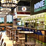 NINE's. Restaurant & Sports Bar: lokal Roberta Lewandowskiego w Browarach Warszawskich