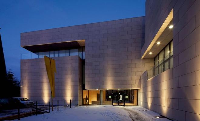 Rozbudowa centrum kultury Sokół w Nowym Sączu \ Extension to the Sokół cultural center in Nowy Sącz