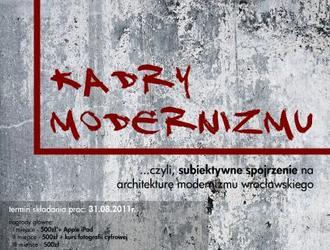 """SARP Wrocław zaprasza do udziału w studenckim konkursie fotograficznym """"Kadry modernizmu"""", adresowanym do studentów wszystkich kierunków"""
