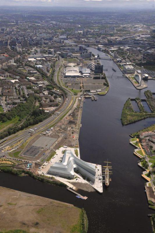 Muzeum Riverside w Glasgow