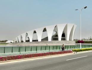 Centrum sportowe w Szanghaju zaprojektowane przez grupę GMP zwycieżcą konkursu architektonicznego