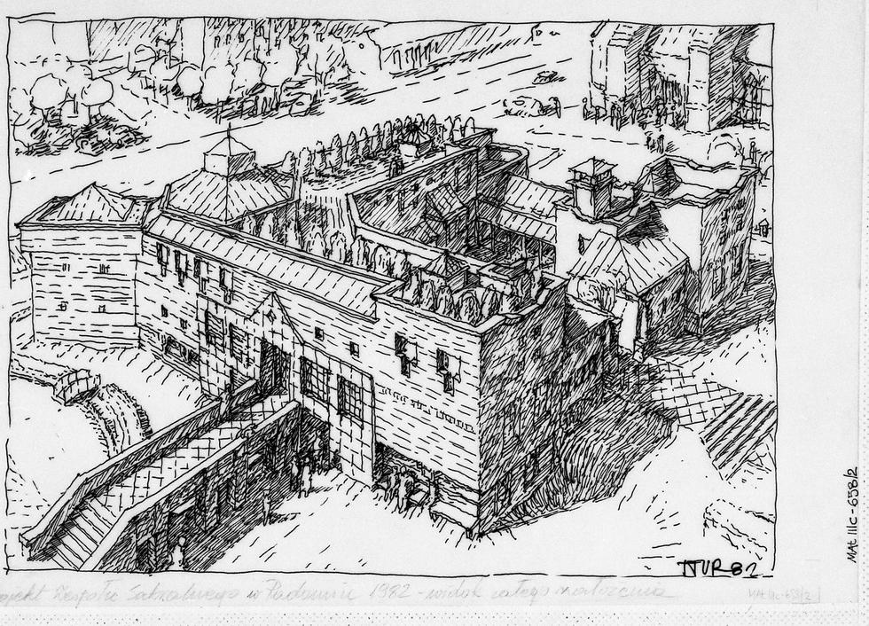Rysunki architektoniczne Tomasza Turczynowicz