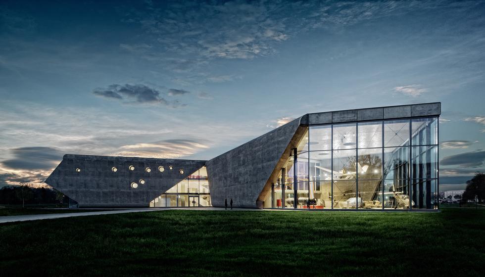 nowy Budynek Muzeum Lotnictwa Polskiego