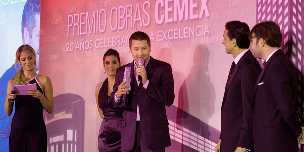 Uroczystość wręczenia nagród CEMEX Building Award 2011
