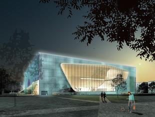 Architekt Rainer Mahlamäki o wykorzystaniu miedzi w budynku Muzeum Historii Żydów Polskich w Warszawie