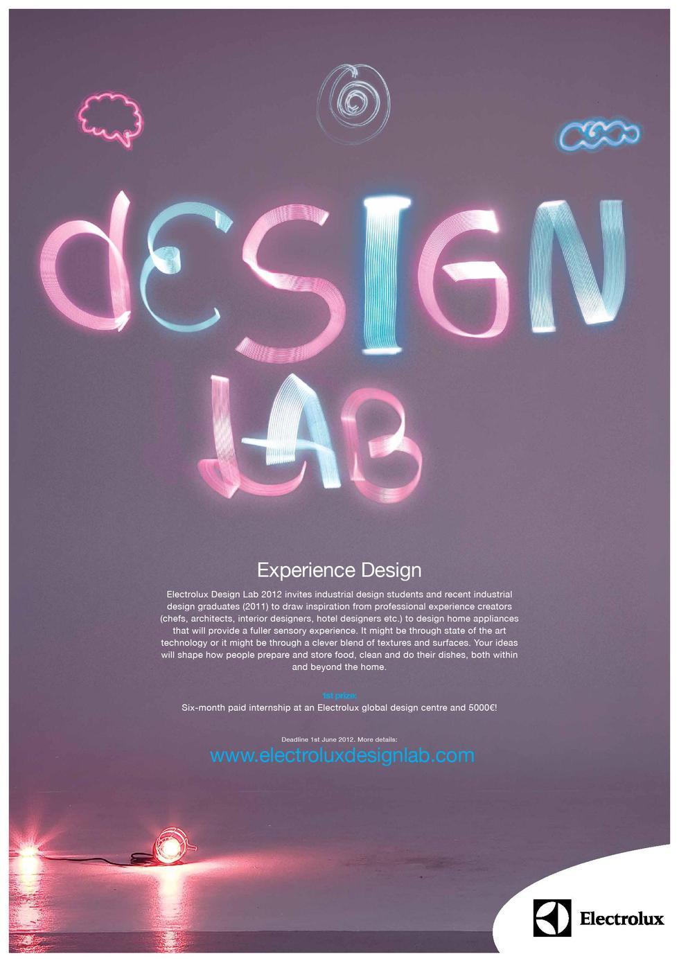 Design Lab konkurs