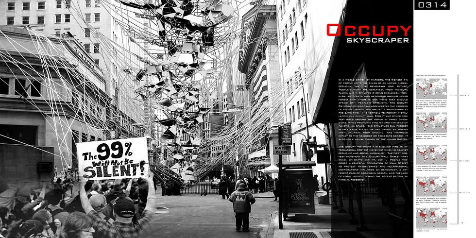 Occupy Skyscraper, Ying Xiao, Shengchen Yang, USA