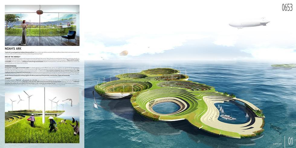 Noah's Ark: Sustainable City, Aleksandar Joksimovic, Jelena Nikolic, Serbia