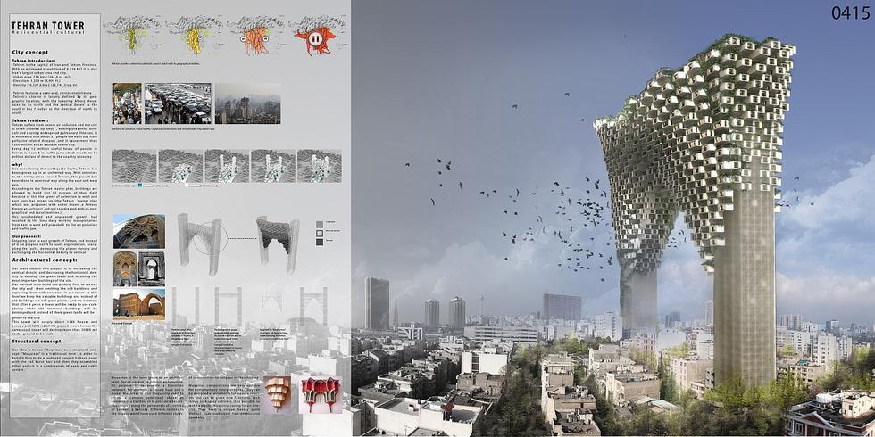 Tehran Tower, Mahdi Kamboozia, Alireza Esfandiari, Nima Dehghani, Mohammad Ashkbar Sefat, Iran