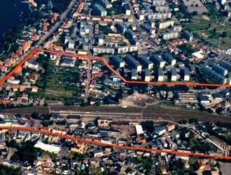 Rewitalizacja terenów pokolejowych w Wągrowcu. Konkurs