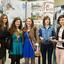Laureatki nagrody głównej, przyznanej za projekt kamizelki rowerowej - zapięcia oraz stojaka