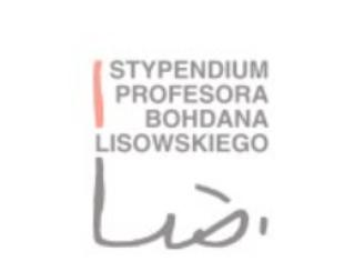 Stypendium profesora Bohdana Lisowskiego przyznane