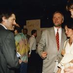 Od lewej: Jerzy Szczepanik-Dzikowski, Rafał Szczepański, Luiza Borawska-Szymborska, Lech Szymborski