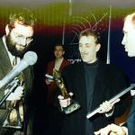 Od lewej: Piotr Szaroszyk, Janusz Kaczorek oraz Marcin Święcicki