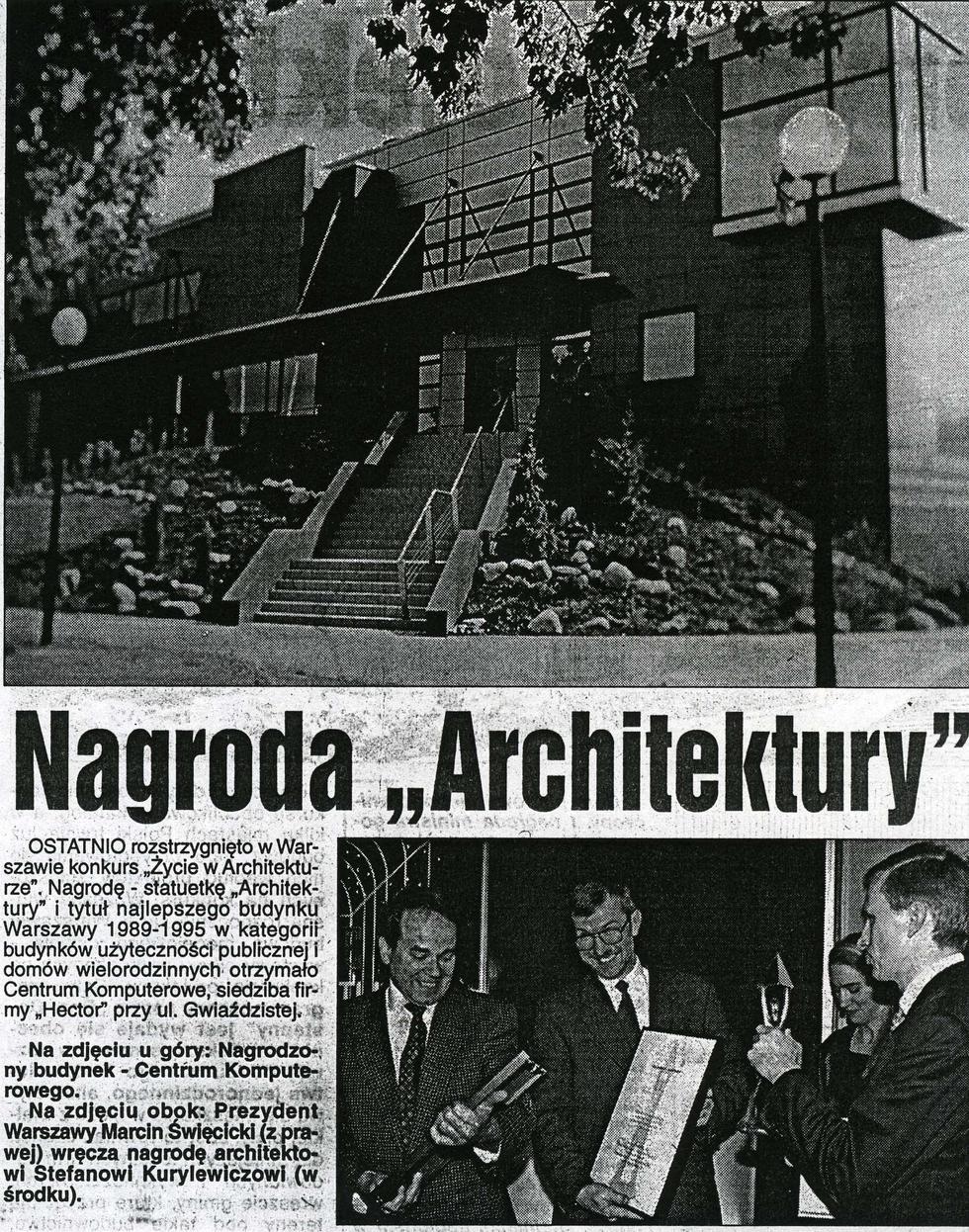 """Nagroda """"Architektury"""""""