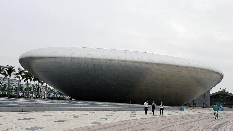 Muzeum w Shenzhen, elewacja